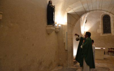 Encensement des Saints de retour à Saint Romain