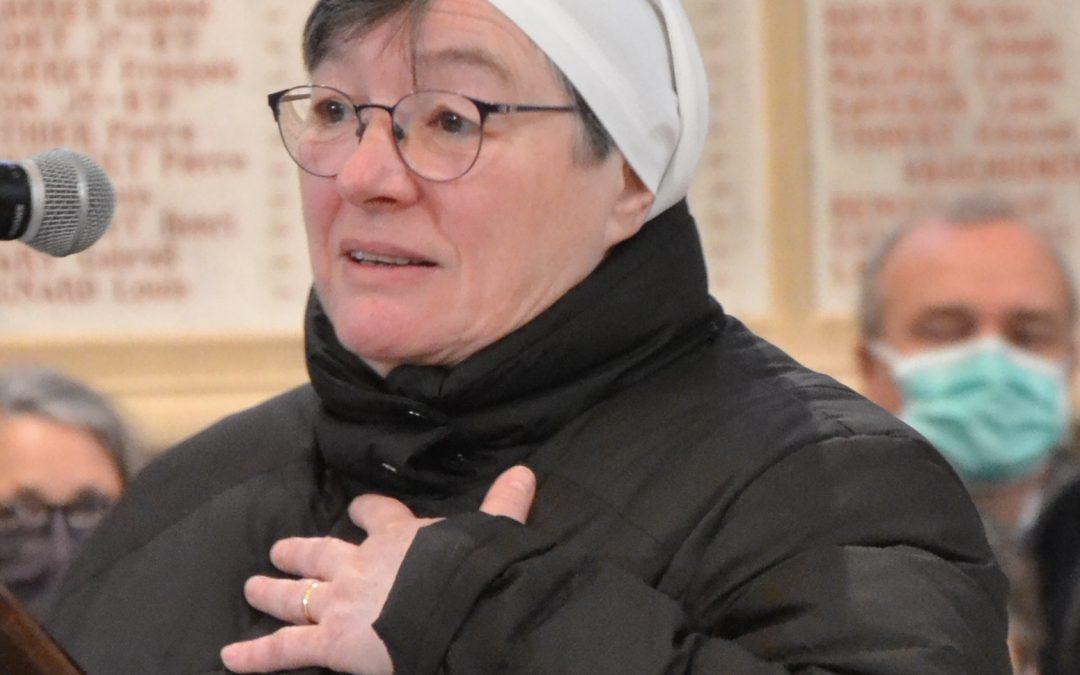 Messe d'action de grâce pour Sœur Maryvonne