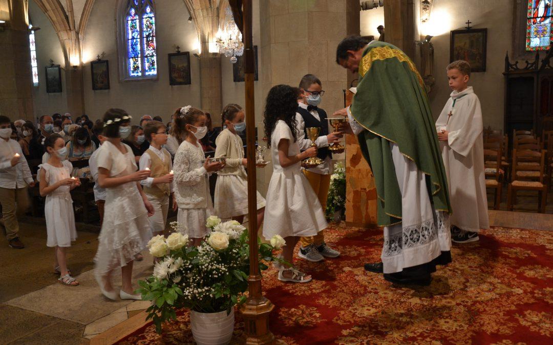 Premières Communions à Meursault