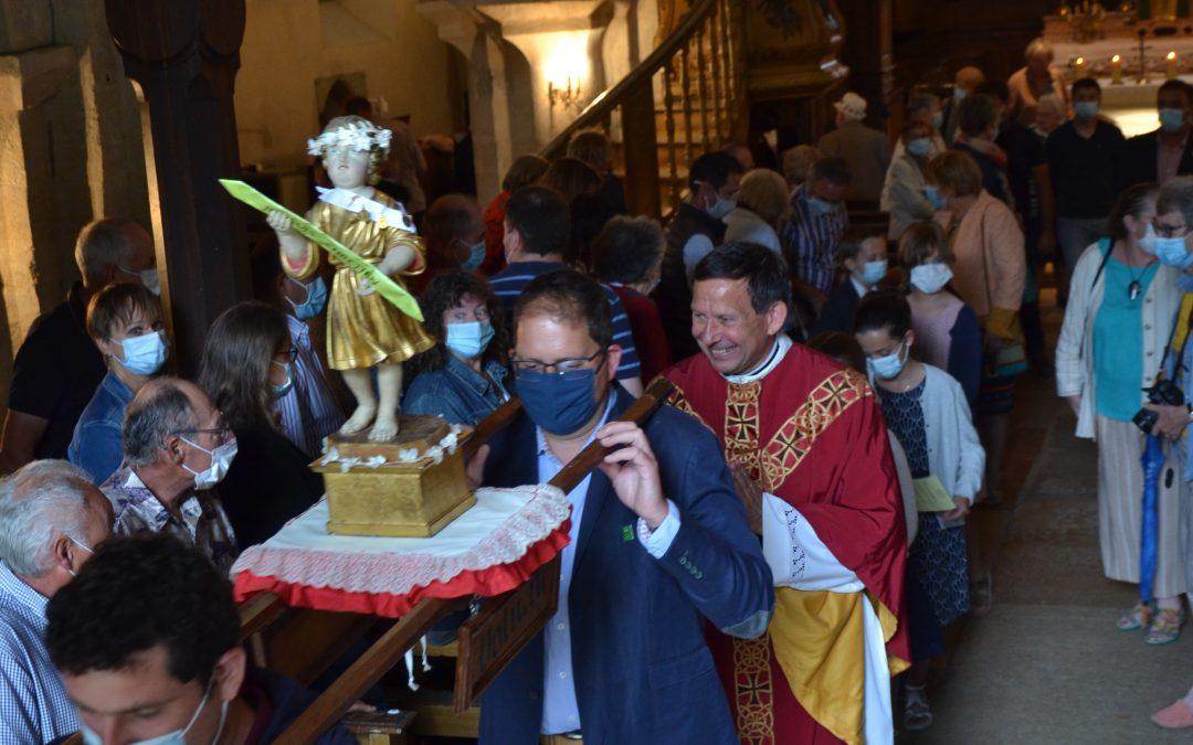 Fête de Saint-Cyr le 4 juillet à Volnay